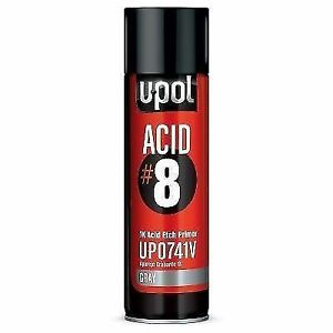 U Pol 741v Acid 8 Etch Primer Gray 1k Aerosol Spray 450 Ml