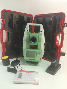 Leica Tc1205 Total Station For Surveying One Month Warranty