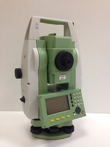 Leica Ts06 R400 Power 3 Prismless Total Station For Surveying 1 Month Warranty