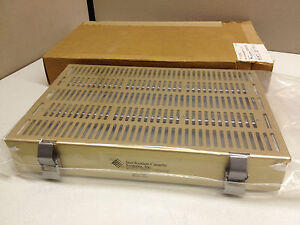 New Sterilizer Sterilization Cassette 31015 l Medium Hospital Cass W Long Tray