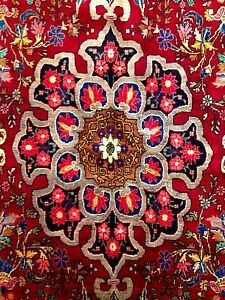 Marvelous Medallion 1940s Persian Bijar Rug Gallery Bidjar 6 2 X 10 10 Ft