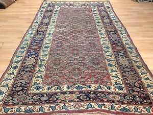 Astounding Antique 1890s Persian Bijar Kurdish Bidjar Rug 5 9 X 10 10 Ft