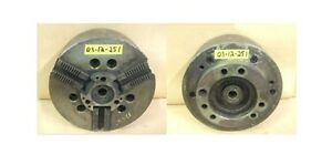 Sp 12 3 Jaw Power Chuck A 8 Spindle Mount Model 12sc