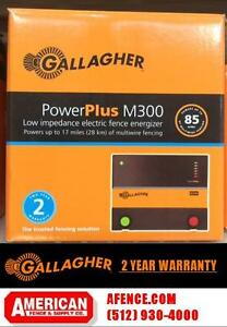 Gallagher M300 Electric Fence Charger 3 Joules Up To 50m 200 Acres 17m 85 Acres