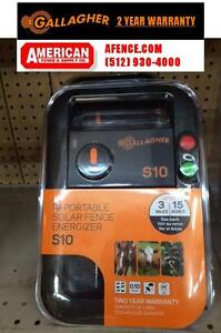 Gallagher S10 0 1 Joule Solar Fence Charger