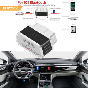 Obd2 Scanner Bluetooth Obd2 Ii Car Code Reader Ios Diagnostic Tool For Iphone Us