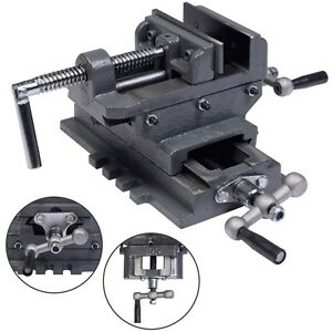 New 4 Cross Drill Press Vise X y Clamp Machine Slide Metal Milling 2 Way Hd