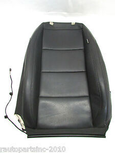 2010 Vw Jetta Leather Seat Cover Upper Black Front Left Oem 06 07 08 09 10