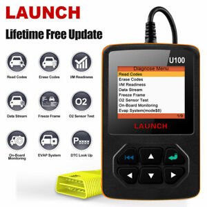Obd2 Code Reader Engine Diagnostic Tool For Jaguar Ford Gmc Jeep Bmw Honda Mazda