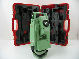 Leica Tc405 5 Total Station Only For Surveying One Month Warranty