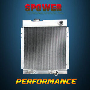 3 row core Aluminum Radiator For Ford Mustang Falcon Mercury Comet V8 63 66