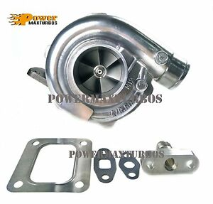 T67 Turbo Charger Universal Turbocharger T4 96 Ar P Trim For Supra Ford Mustang
