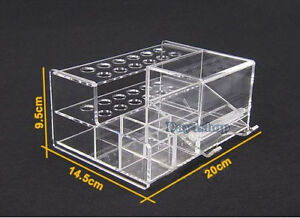 1pc Dental Acrylic Organizer For Syringe Resin Adhesive Applicator Dispenser