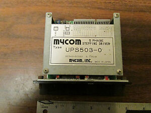 Mycom 5 Phase Stepping Driver For Vexta Type Stepper Motor Ups503 0