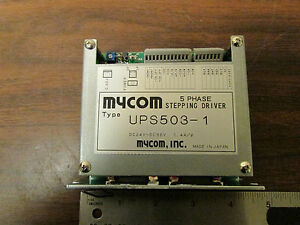 Mycom 5 Phase Stepping Driver For Vexta Type Stepper Motor Ups503 1