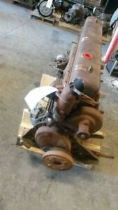 1948 Buick I 8 Core Engine Assembly stuck For Rebuild 382375