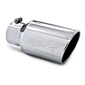 Mbrp T5073 Angled Rolled End Exhaust Tip 4 Inlet 6 Outside Dia 12 Length