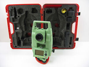 Leica Tcr407 7 Reflectorless Total Station For Surveying One Month Warranty