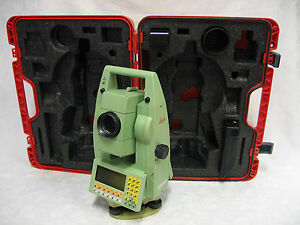 Leica Tca1105 5 Robotic Total Station Complete For Surveying One Month Warranty