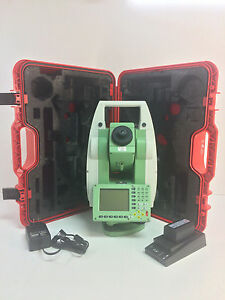 Leica Tcr1202r300 2 Total Station For Surveying One Month Warranty