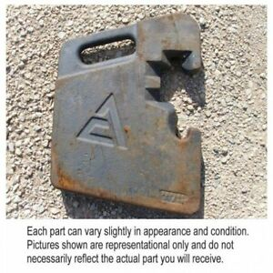 Used Suitcase Weight 100 Lbs Ac Allis Chalmers 7080 7020 7060 7045 7000 7010