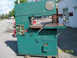 Doall Vertical Band Saw Contour Matic 36