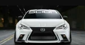Gy Scion Decal Windshield Windows Banner Cars Stickers Tc 4 X 40