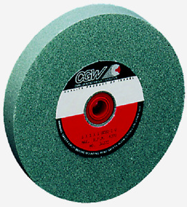 7 X 1 X 1 1 4 Green Silicon Carbide Grinding Wheel 60 Grit T5 Cgw 34655