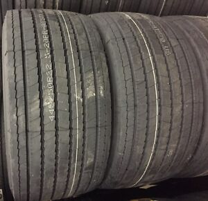 4 Tires 445 50r22 5 Tires At570 20pr Trailer Tire 445 50 22 5 Arisun 44550225
