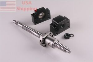Ball Screw Sfu1605 End Machine 350 With Bk12 bf12 End Support Bearing Mounts