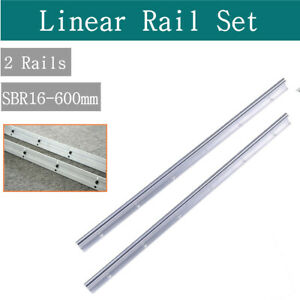 Cnc Linear Motion High Precision 600mm Sbr16 Linear Bearing Rail Guide