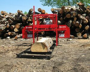 Hud son Forest Equipment Oscar 330 Pro Sawmill Bandmill Lumber Maker Cabin Kit