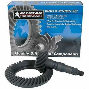 Allstar Performance 70114 Ring And Pinion Gear 3 73 1 Ratio Gm 7 5 Set
