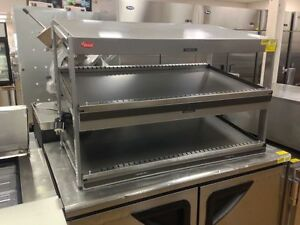 Hatco Sandwich Slide Warmer Display Slanted Double Shelf Grsds 41d 120 240