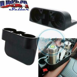 Organizer Cup Holder Bottle Drink Phone Mount Stand Car Seat Seam Wedge Storage