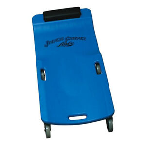 Lisle Large Wheel Plastic Creeper Blue 94032