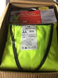 3m Surveyor s Safety Vest Class 2 Vest 19 Total 1 Lot