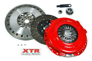 Xtr Stage 2 Clutch Kit Chromoly Flywheel 1999 2001 Ford Mustang Gt 4 6l 8 bolt