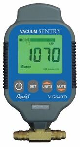 Supco Vacuum Gauge Digital 0 To 19000 Microns Vg640d