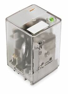 Dayton Plug In Relay 11 Pins Square Base Type 10a 277vac 30vdc Contact