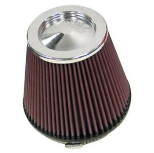 K N Rf1042 Round Tapered Universal Air Filter Dia F 6 152 Mm