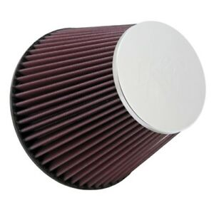 K N Rf1048 Round Tapered Universal Air Filter Dia F 6 152 Mm