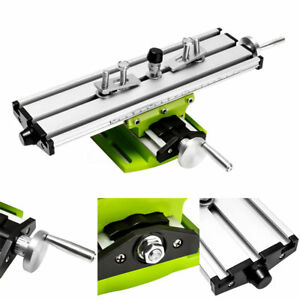 Diy 2 Axis Milling Compound Working Table Cross Sliding Bench Drill Vise Fixture