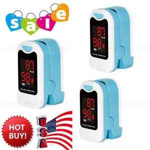 3 Pcs Finger Pulse Oximeter Heart Rate Monitor Blood Oxygen Meter Spo2 Pr Sensor