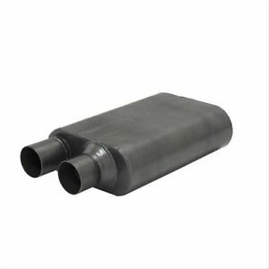 Flowmaster 842580 80 Series Cross flow Muffler 2 50 In out Same Side Out Sound