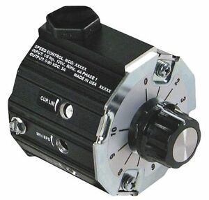 Dayton Dc Speed Control Ip30 0 To 90vdc Voltage Output 3 Max Amps 2pux3