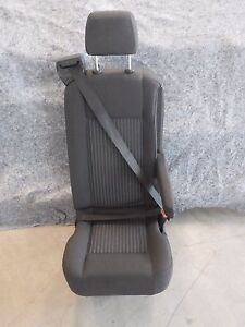 Ford Transit Oem Seat Charcoal Cloth 16 Single Passenger Universal