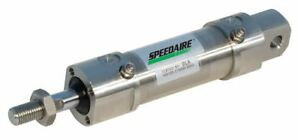Speedaire 80mm Bore Dia With 25mm Stroke Stainless Steel Pivot Mounted Air