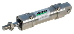 Speedaire 80mm Bore Dia With 250mm Stroke Stainless Steel Pivot Mounted Air