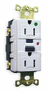 Hubbell Kellems Gfci Receptacle 15a Amps Nema Configuration 5 15r Outlet